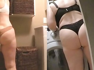 MarieRocks 60  GILF Sexy ass in thongs