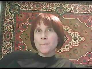 Russian mature plays on Skype with a young guy while her husband at work, more,