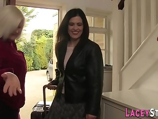 Granny lesbian toys milf in stockings