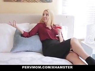 Pervmom Stepmom Seduces Horny Son  watch FULL HD video on adultx.club