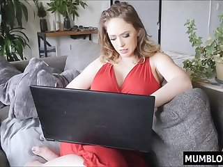 Mommy taste sons cock for the first time