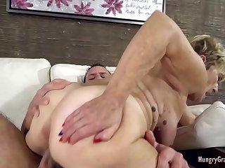 Experienced bimbo fucked by a guy half her age
