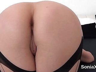 Unfaithful english mature lady sonia shows off her huge balloons