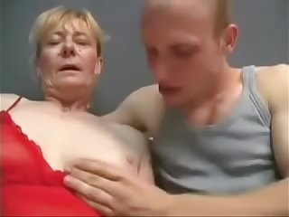 Hairy Mature fucked hard  Big Facial