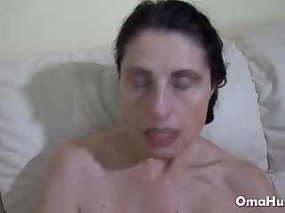 Sexy grannies fuck hard in this compilation porn