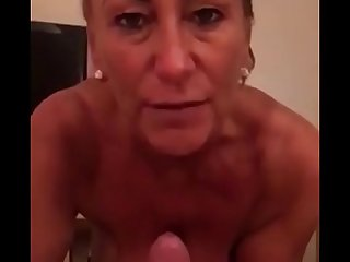 Dirty Talking Stepmom Loves Young Cum