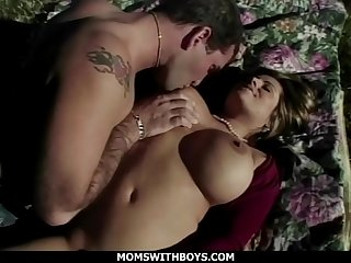 MomsWithBoys  Big Tit Horny Mom Outdoor Sex With A Stud'_s Big Cock