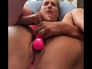 Beautiful Mature Silversquirter Play With Her Cum Filled Pussy