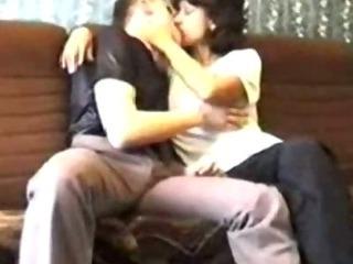 Russian mature mom Amalia with her boy