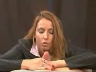 Sexy mommy make son cum