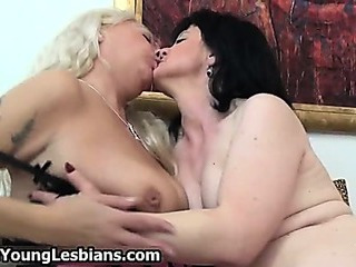 Two horny mature wifes sharing