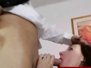 Euro milf in stockings gets fucked