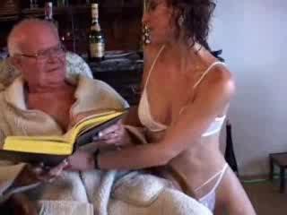 candi with 80yearold grandpa