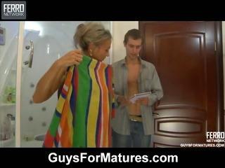 Ninette&Robin nasty mature video