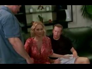 Julia Ann gets Two Hot Dicks