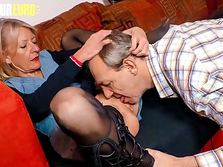 AMATEUR EURO  German Granny Margit S. Wants To Feel Women Again