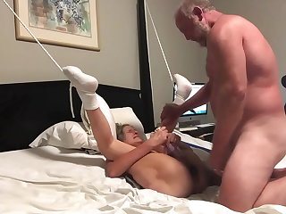 Beautiful Mature Silversquirter Has Pussy Licked Fucked Ends With A Squirt