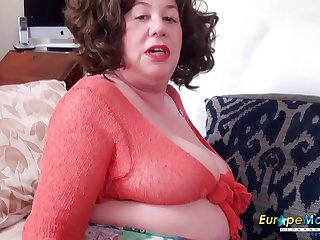 EuropeMaturE Top Quality Solo Ass Toy Fucking