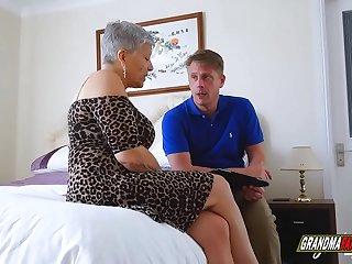 riding a grandmother