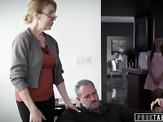 PURE TABOO Delinquent Teens Corrupted by Pervert StepGrandpa