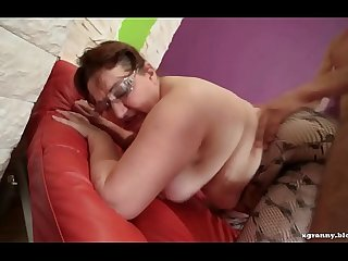 Fat ass mature anal hard